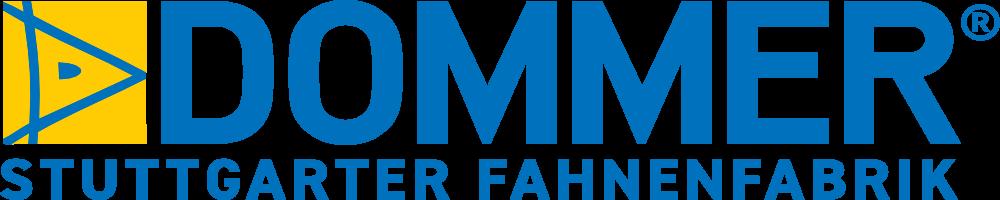 Logo Dommer Fahnenfabrik Stuttgart